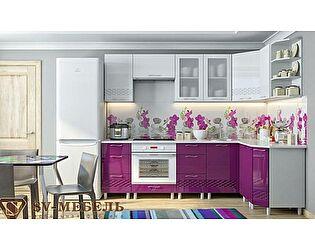 Модульная кухня SV-мебель Волна, баклажан