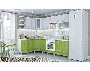 Модульная кухня SV-мебель Волна, олива