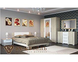 Модульная спальня SV-мебель Лагуна-2