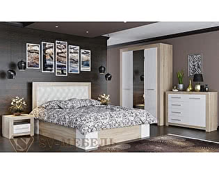 Модульная спальня SV-мебель Лагуна-6