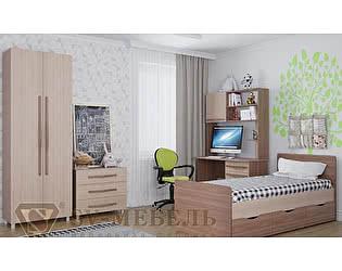 Модульная детская SV-мебель Алекс 1 (шимо тёмный/шимо светлый), композиция 1