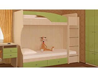 Кровать двухярусная SV-мебель Бэмби-4 (0,8х1,86)