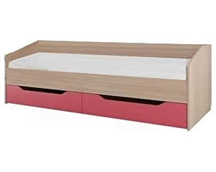 Кровать одинарная SV-мебель Сити-1 с ящиками (0,8х2,0)