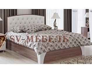 Кровать SV-мебель Лагуна-7 со стразами 1,6х2.0