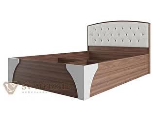 Кровать SV-мебель Лагуна-7 с пуговицами 1,6х2.0