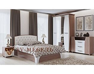 Модульная спальня SV-мебель Лагуна-7 композиция 2