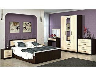 Модульная спальня Миф Фиеста ЛДСП композиция 1