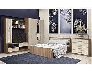 Модульная спальня Миф Фиеста ЛДСП композиция 3