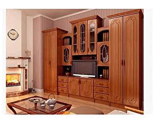 Гостиная Миф Альберт со шкафами глянец