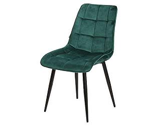 Купить стул M-City CHIC бело-голубой, велюр G062-41