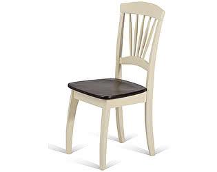 Купить стул M-City JIN D-2092 CREAM+CAPPUCINO WOODEN SEAT