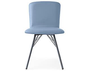 Купить стул M-City EMMA CB/1662-SK mt.P16 Matt Grey/ SA0 Skuba Sky Blue