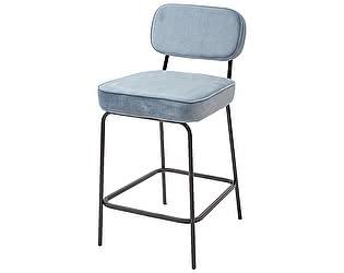Купить стул M-City MEMPHIS G062-43 серо-голубой металлик, велюр
