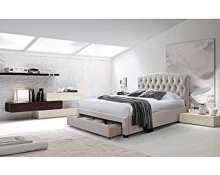 Купить кровать M-City SWEET NATALIA 160х200 Champagne 7 с ящиком