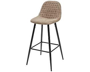 Купить стул M-City Барный стул LION BAR PK-01 серо-коричневый, ткань микрофибра PK-01 М-City