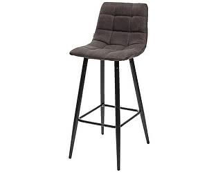 Купить стул M-City Барный стул SPICE PK-04 темно-серый, ткань микрофибра М-City