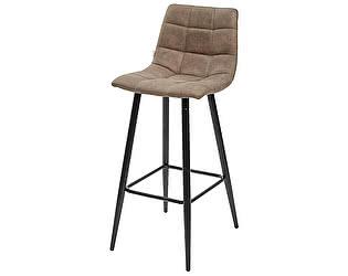 Купить стул M-City Барный стул SPICE PK-01 серо-коричневый, ткань микрофибра М-City