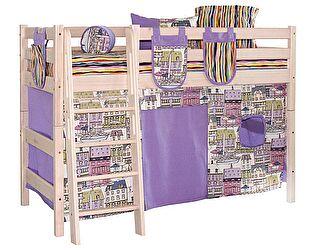 Штора МебельГрад Соня на низкую кровать
