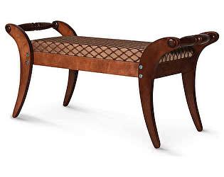 Купить банкетку Мебелик Тифани средне-коричневый