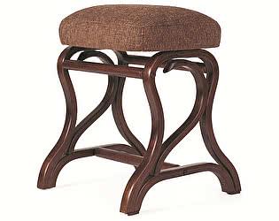 Банкетка Мебелик Диана средне-коричневый/рогожка коричневая