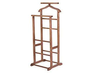Купить вешалку Мебелик костюмная В 9Н средне-коричневый