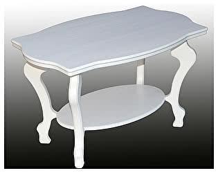 Стол журнальный Мебелик Берже 1 белый ясень