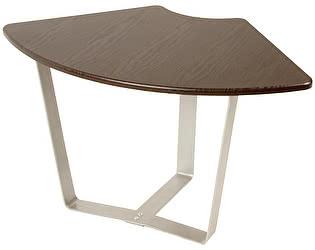 Стол журнальный Мебелик Саут 4Д темно-коричневый