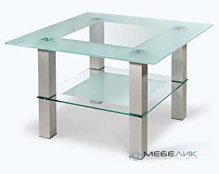 Стол журнальный Мебелик Кристалл-1