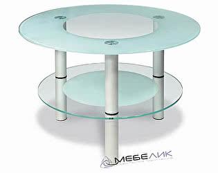 Стол журнальный Мебелик Кристалл-3