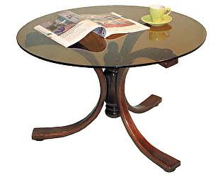 Стол журнальный Мебелик Лорд темно-коричневый