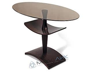 Стол журнальный Мебелик Рио 3 венге/тонированное