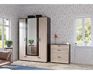 Купить шкаф Гранд Кволити Даллас 4-4818 4-х дверный с ящиками