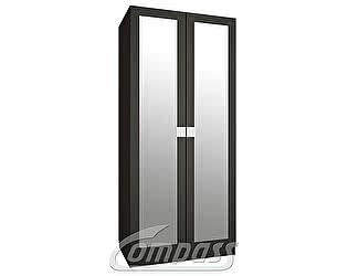 Шкаф для одежды Компасс АМ-01-премиум с зеркалами