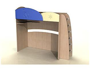 Кровать с лестницей  Компасс ДК-12