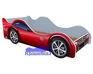 Кровать-машина БМВ красная
