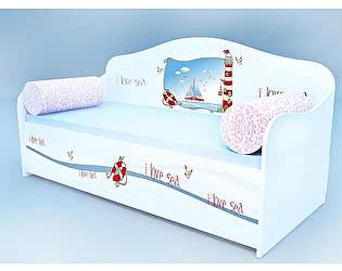 Диван - кровать Кроватка5 Морской