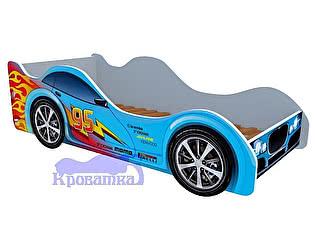 Кровать-машина Голубая молния