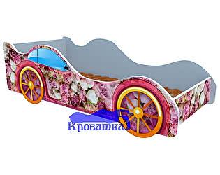 Кровать-машина Пионы