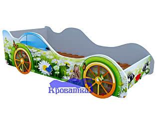 Кровать-машина Ромашки