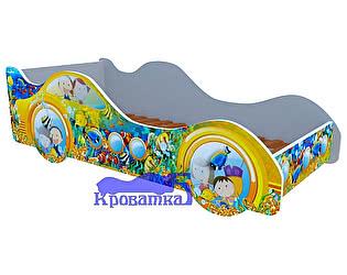 Кровать-машина Субмарина желтая