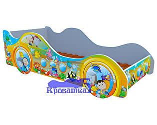 Кровать-машина Субмарина рыбки