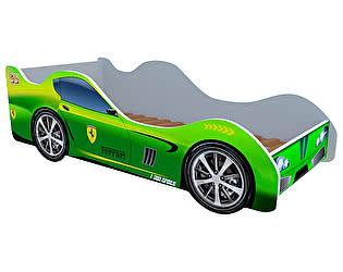 Кровать-машина Феррари зеленая