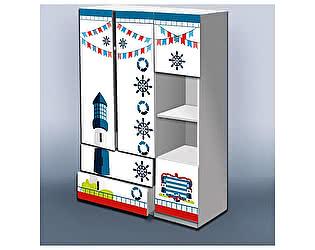 Шкаф Кроватка5 Отважный моряк