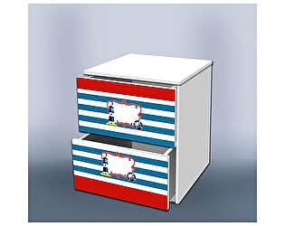 Тумба Кроватка5 Отважный моряк с ящиками