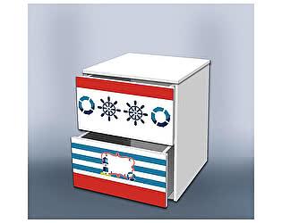 Тумба Кроватка5 Отважный моряк 2 с ящиками