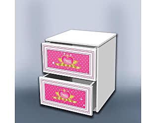 Тумба Кроватка5 Принцесса с ящиками