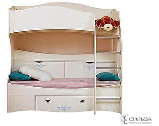 Кровать Сильва Прованс 2-х ярусная НМ 008.31-03