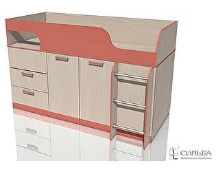 Кровать с поворотным столом Сильва Рико НМ 011.55
