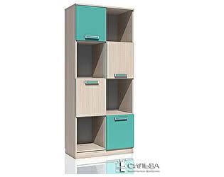 Шкаф для книг Сильва Рико НМ 009.06 М