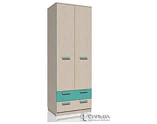 Шкаф для одежды с ящиками Сильва Рико НМ 013.02-03